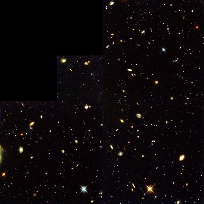 Hubble Deep Field South--Multiple windows on the Universe