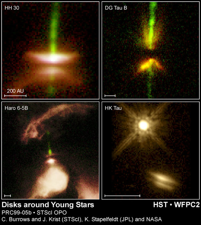 Disks Around Young Stars