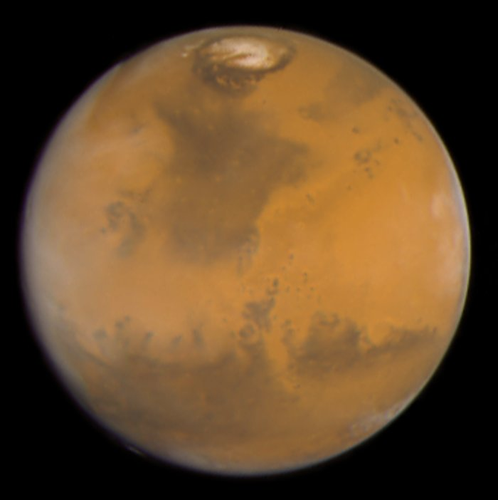 color of mars planet - photo #29