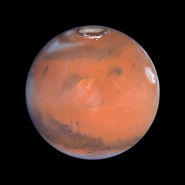 Mars at Opposition (the Elysium Region)