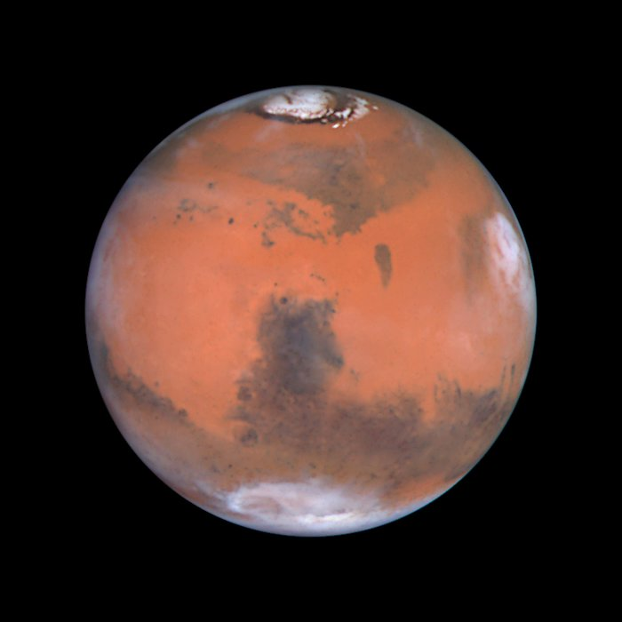 Mars at Opposition (the Syrtis Major Region)