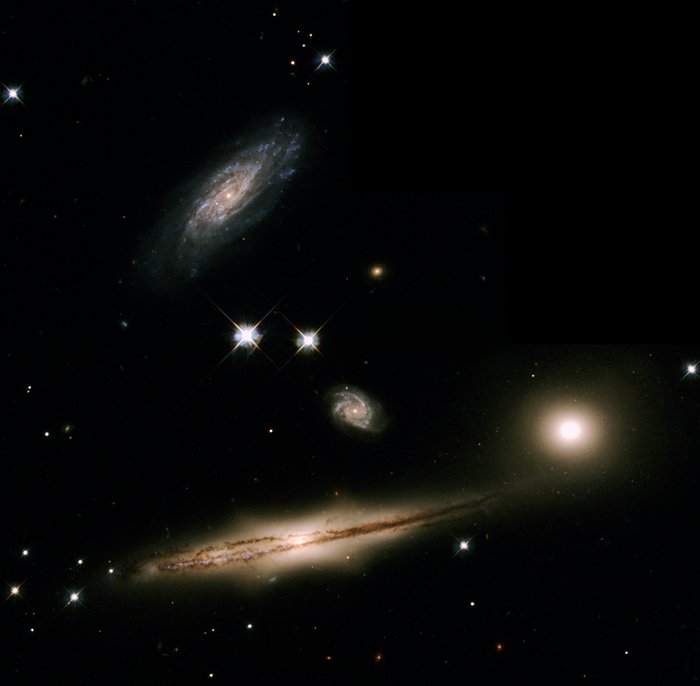 A Minuet of Galaxies