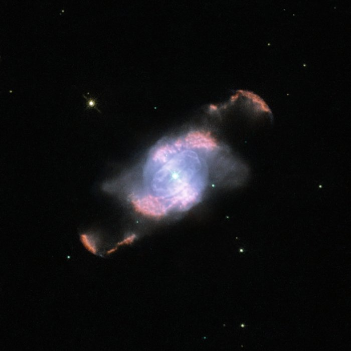 IC4634's Glowing Waves