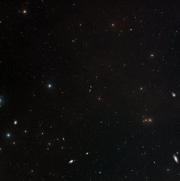 Wide-field view of NGC 4634 and NGC 4633 (ground-based image)