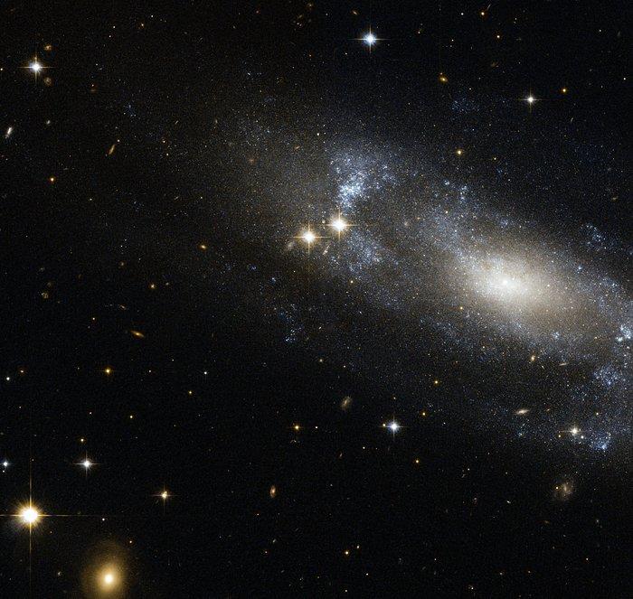 A loose spiral galaxy
