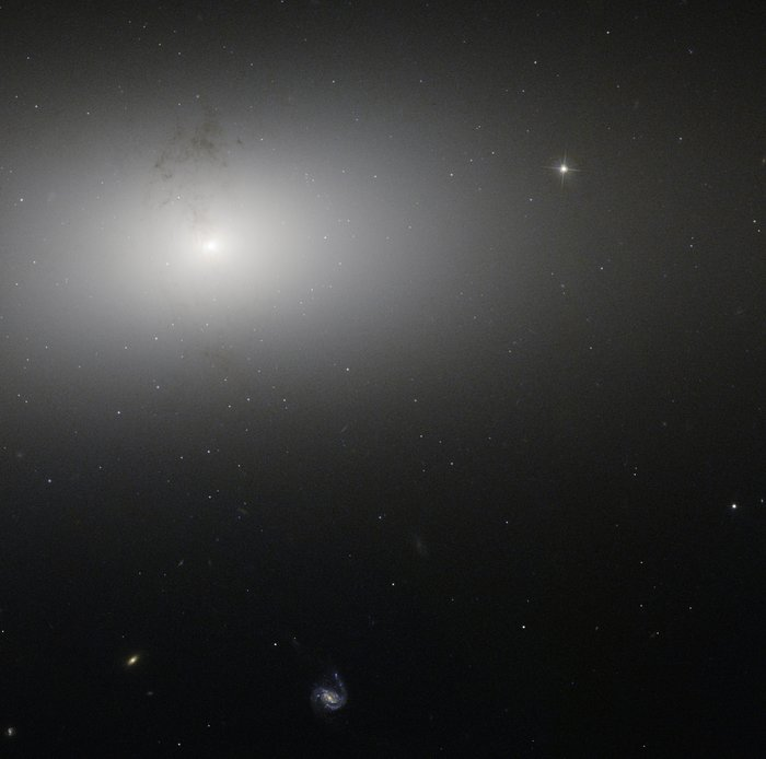 Dusty detail in elliptical galaxy NGC 2768