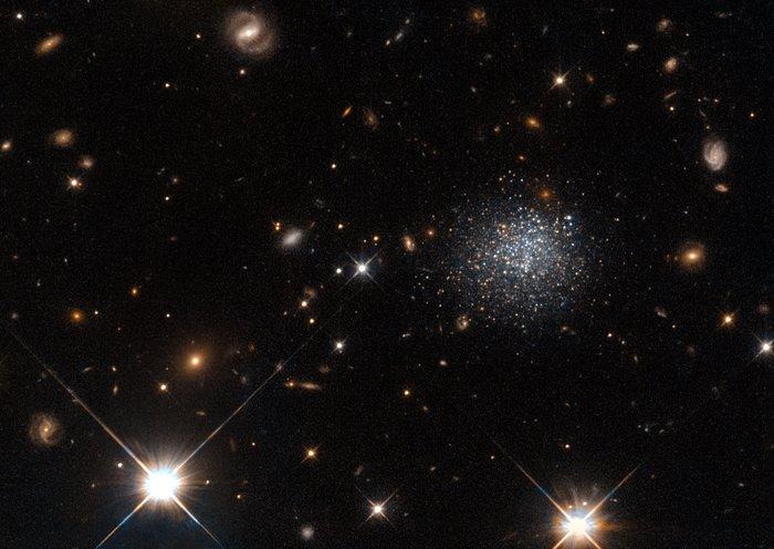 A stubborn dwarf galaxy