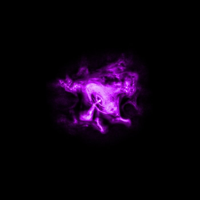 Chandra X-ray Observatory (X-ray) Image of the Crab Nebula