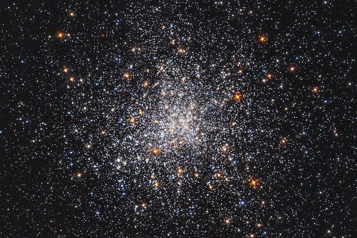 A snowstorm of stars