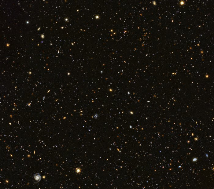Hubble contributes to painting a picture of the evolving Universe