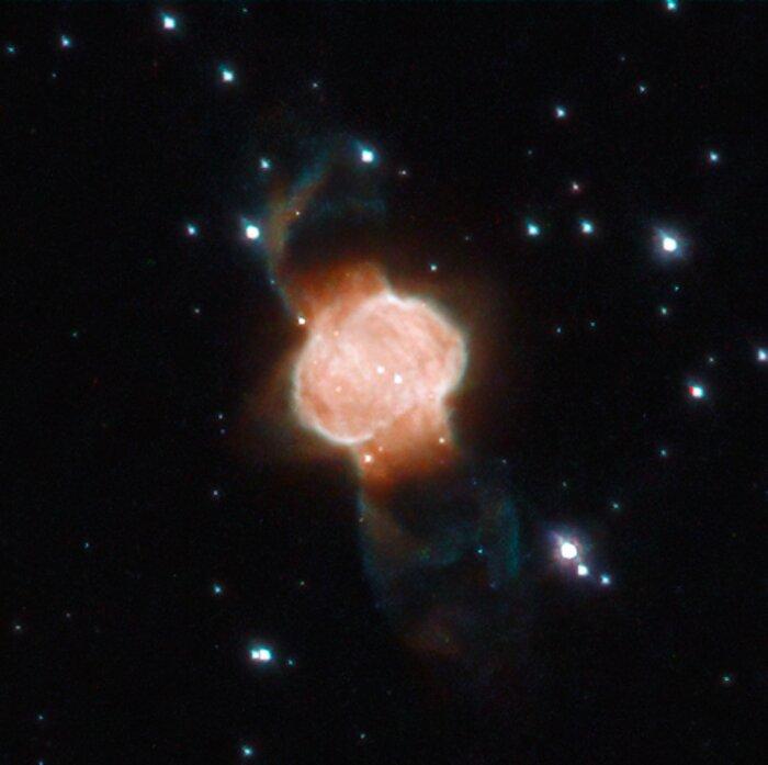 A Cosmic Hourglass