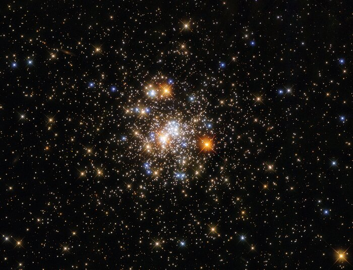A Glittering Globular Cluster