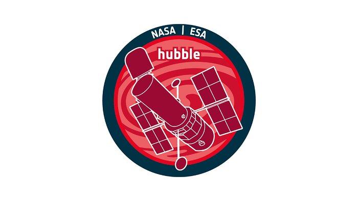 The ESA Hubble Space Telescope Logo
