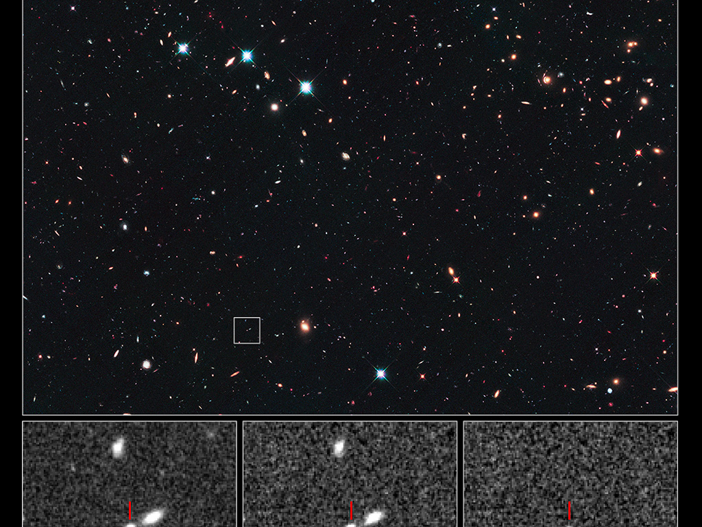 Record-breaking supernova in the CANDELS Ultra Deep Survey ...