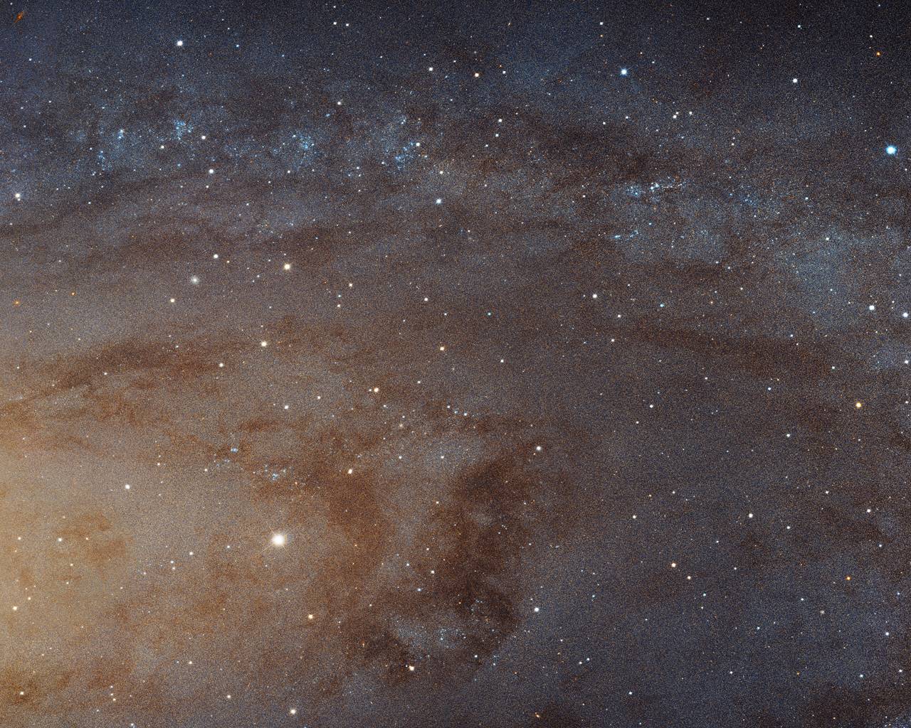 Sharpest ever view of the Andromeda Galaxy | ESA/Hubble