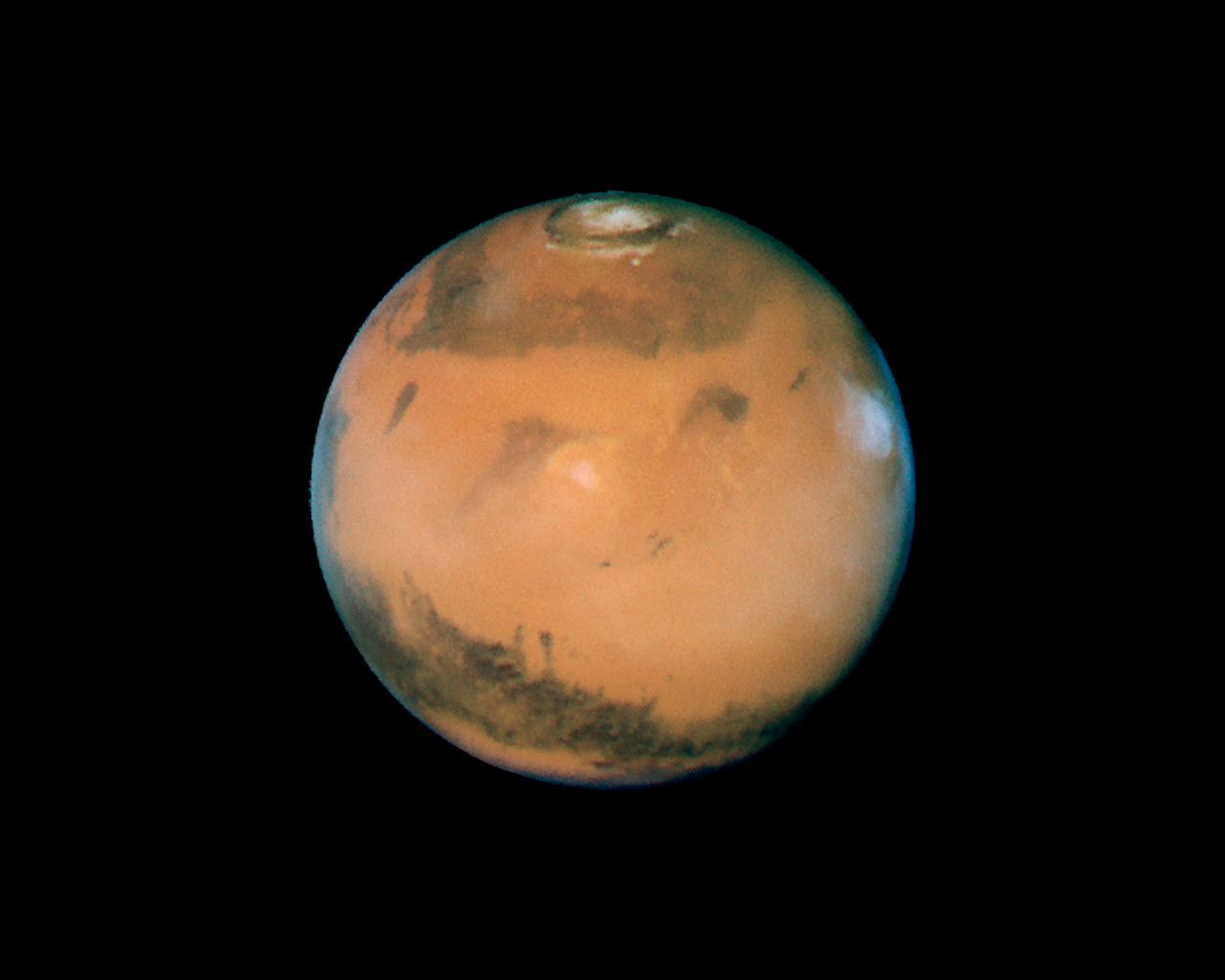 hubble images of mars - photo #23