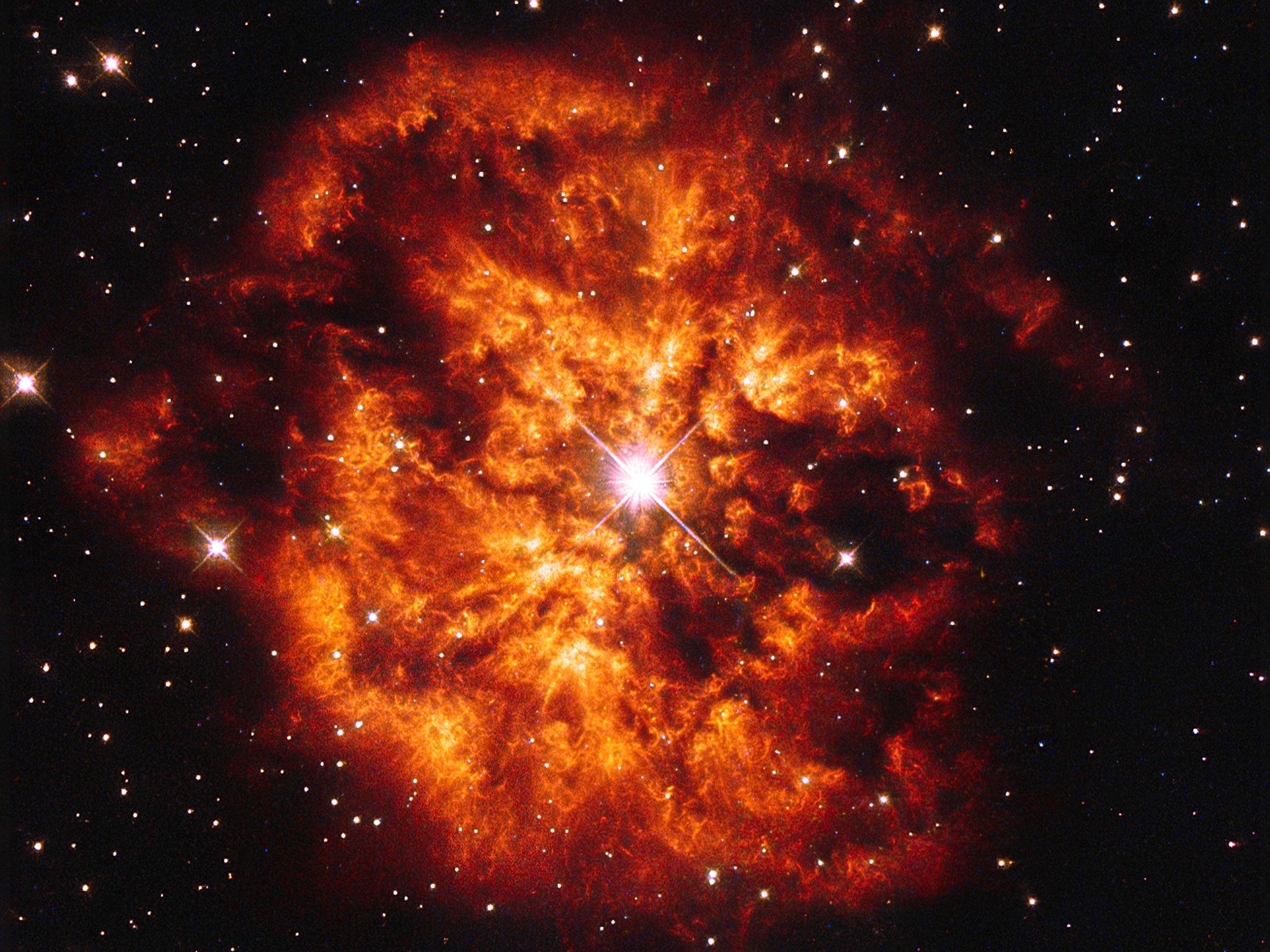 Jean-Baptiste Faure: Wolf–Rayet Star Hen 2-427 And Nebula ...