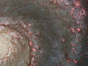 Panning on the Whirlpool Galaxy