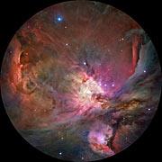 The Orion Nebula in fulldome