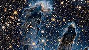 Pan over Pillars of Creation — Infrared