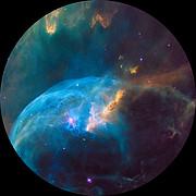 Bubble Nebula for fulldome