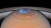 Animation of Saturn's northern auroras