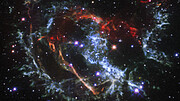 Pan of the Supernova Remnant Expansion 1E 0102.2-7219