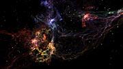 Supernova remnant (artist's impression)