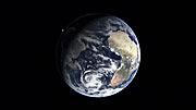 Hubble's orbital path