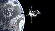 Hubble changing orientation