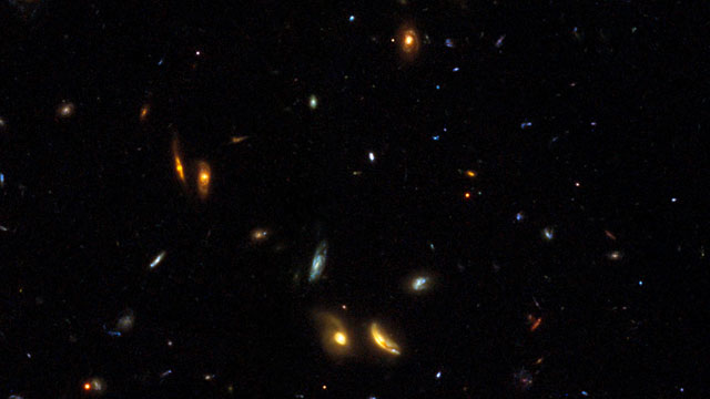 Galaxies across space and time