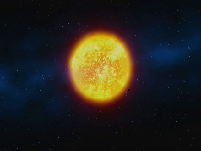The Venus Transit 2004 (artist's impression)