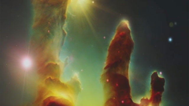 The Eagle Nebula in 3D
