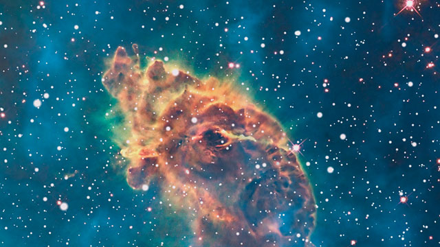Zoom out from the Carina Nebula