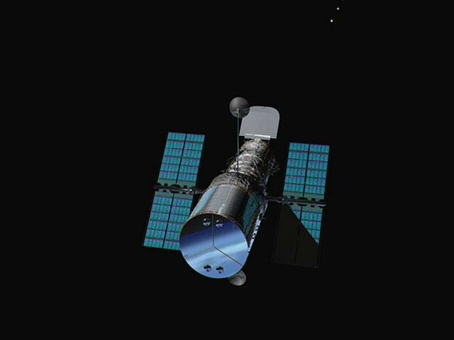 The light path inside Hubble
