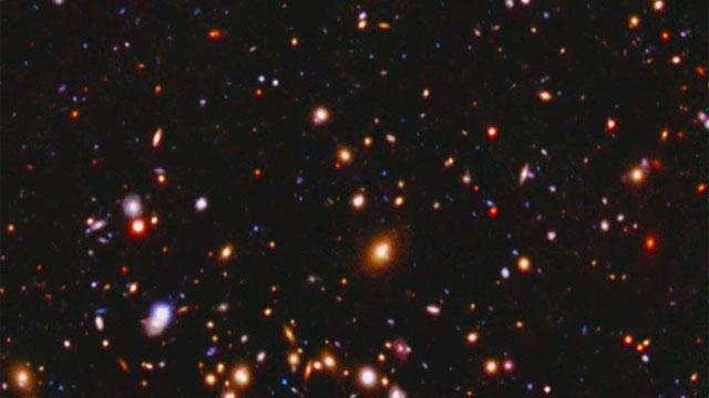 Hubble tracks down a galaxy cluster's dark matter