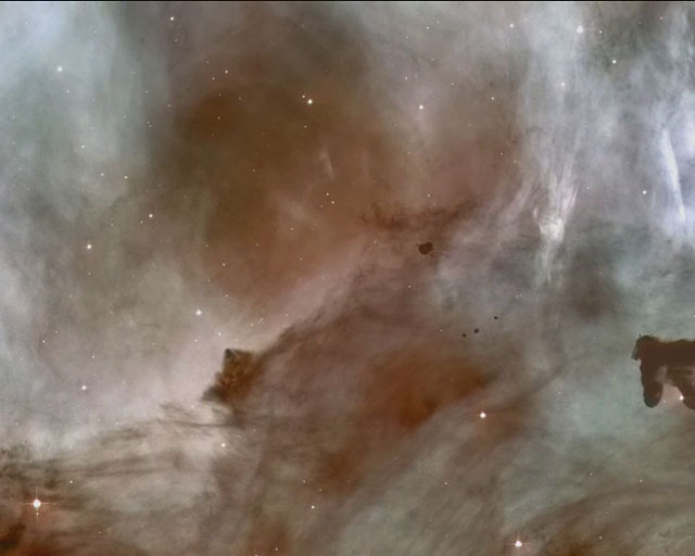 Panning on the Carina Nebula