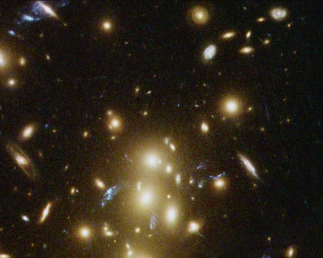 Hubble finds ring of dark matter