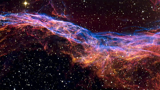 Panning on the Veil Nebula