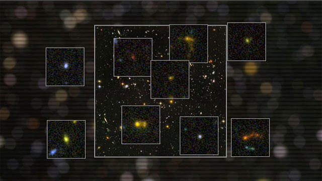 Compact galaxies in the Hubble Ultra Deep Field