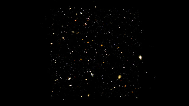 Hubble Ultra Deep Field Flythrough