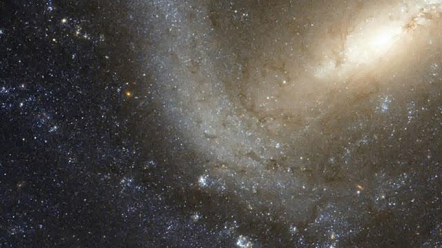 Pan across NGC 1073