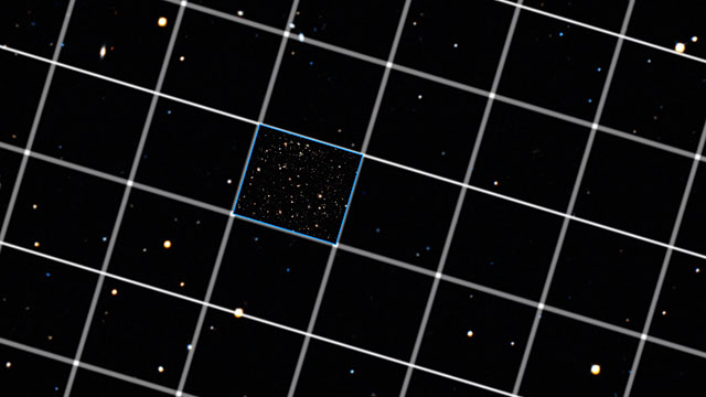 Size of the eXtreme Deep Field