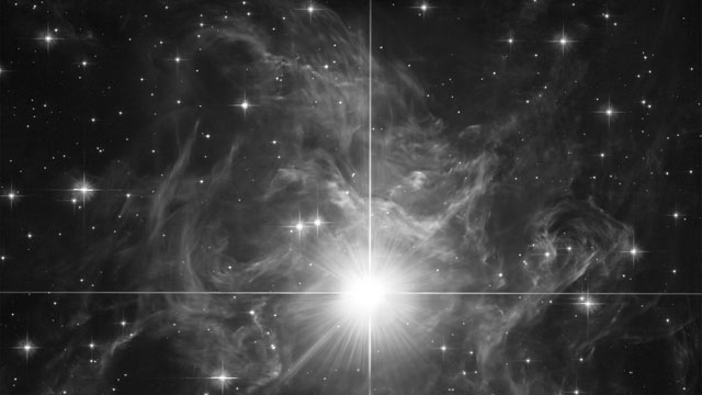 Morph of the light echo around RS Puppis