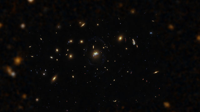 Zooming in on merging galaxies and a string of star formation in SDSS J1531+3414