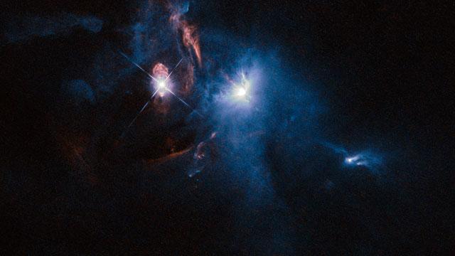 Panning across XZ Tauri