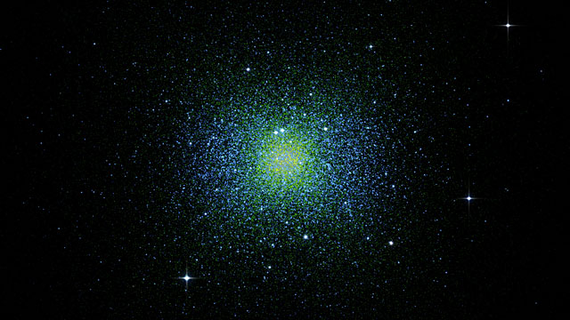 Structure of a globular cluster