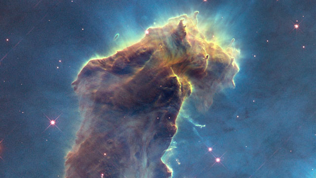 hubblecast 82  new view of the pillars of creation