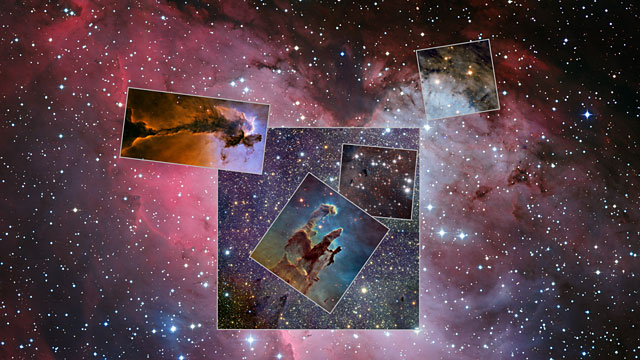 Tour of Eagle Nebula