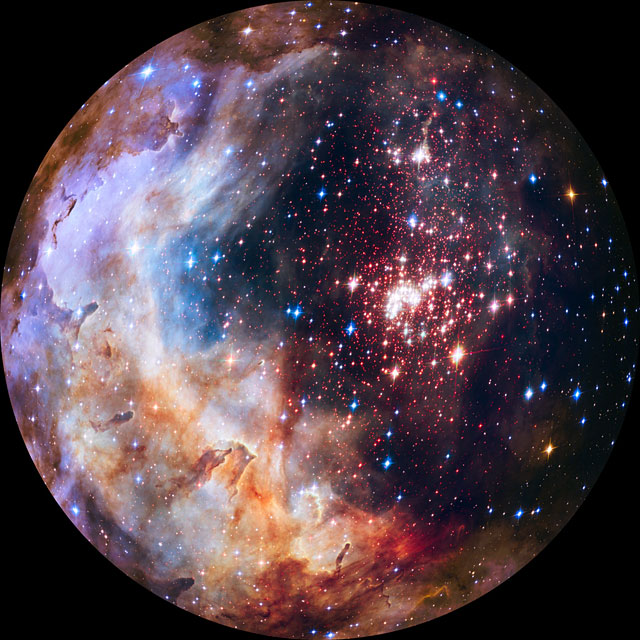 Westerlund 2 for fulldome